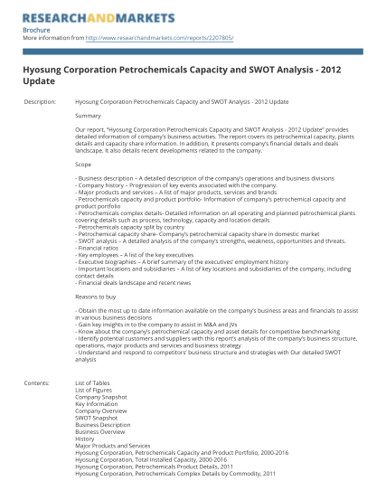 35090365-hyosung-corporation-petrochemicals-capacity-and-swot-analysis