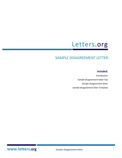 351576494-disagreement-letter-sample