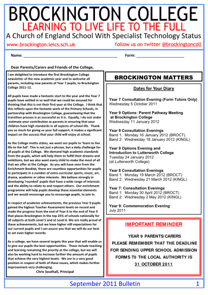 360242236-name-form-dear-parentscarers-and-friends-of-the-college-i-am-delighted-to-introduce-the-first-brockington-college-newsletter-of-the-new-academic-year-and-to-welcome-all-parents-including-new-parents-of-year-7-pupils-to-brockington