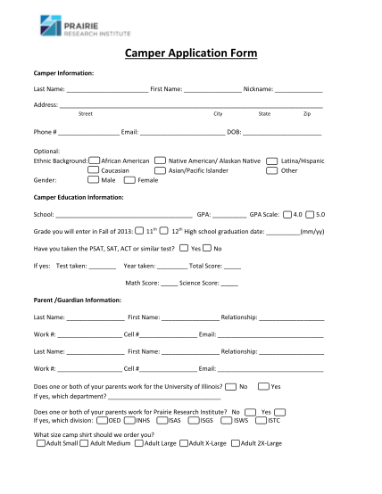 36069870-camper-application-form-prairie-research-institute-prairie-illinois