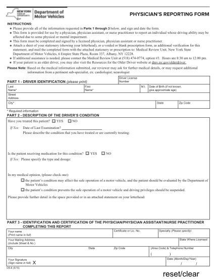 36439325-ds6pdf-physician-s-reporting-form-new-york-state-dmv-dmv-ny