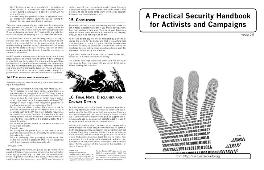 366661977-a-practical-security-handbook-for-activists-and-quiver-distro-anti-politics