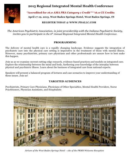 367684139-2015-regional-integrated-mental-health-conference-brochure-3-16-15doc