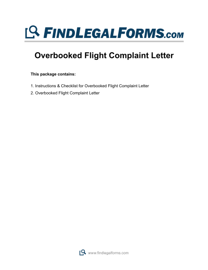 37419873-overbooked-flight-complaint-letter-findlegalforms