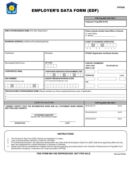 38011439-fillable-employers-data-form-pagibigfund-gov