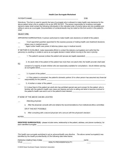 395140392-health-care-surrogate-form