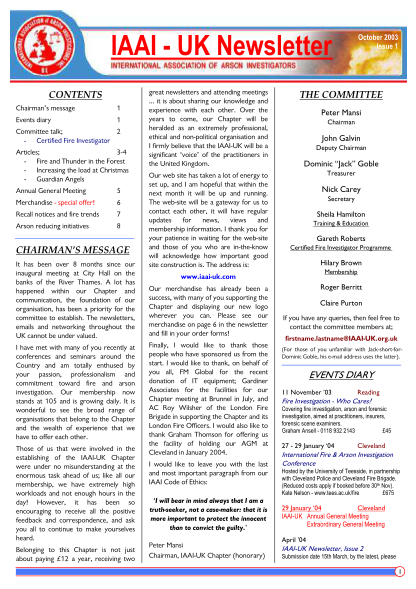 396225684-iaai-uk-newsletter-united-kingdom-association-of-fire-investigators-uk-afi