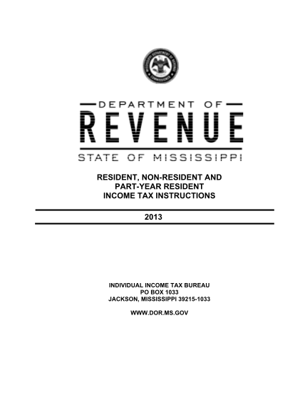 39986954-indiv_80100138pdf-resident-non-resident-and-part-year-resident-income-tax-instructions-2013-individual-income-tax-bureau-po-box-1033-jackson-mississippi-39215-1033-www-dor-ms