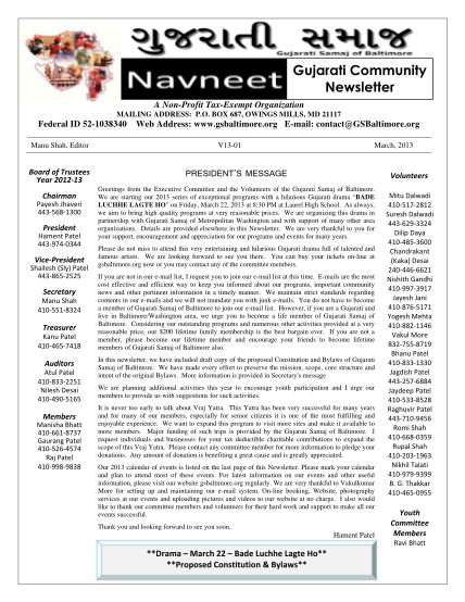 427492636-newsletter-template-president-message-march-2013doc