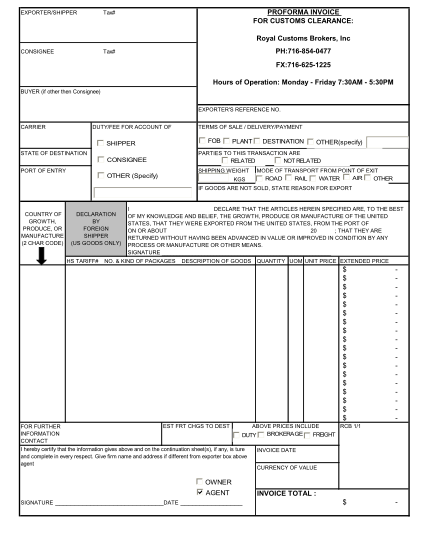 20 Proforma Invoice Example Free To Edit Download Print Cocodoc
