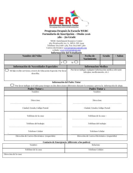 438945096-programa-despus-la-escuela-werc-formulario-de-inscripcin-windom-mpls-k12-mn