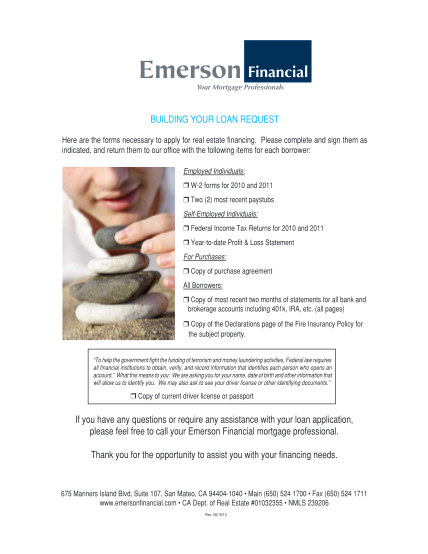 43947110-2-loan-forms-package-emerson-financial