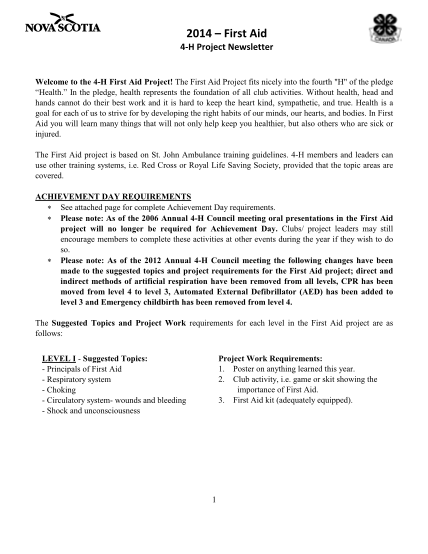 44300715-4-h-project-newsletter-first-aid-carrier-company-agent-permission-form