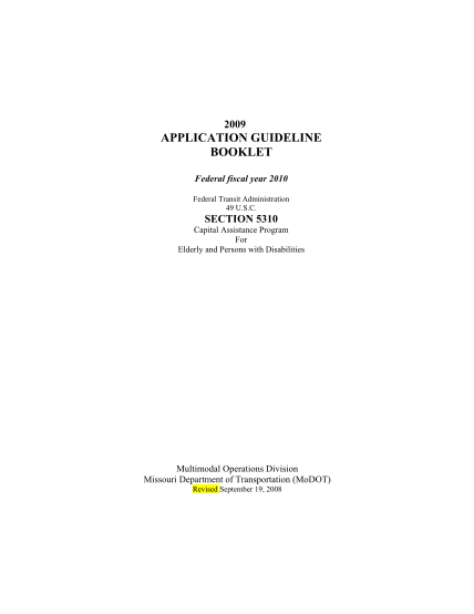 44992297-2009-application-guideline-booklet-federal-fiscal-year-2010-federal-transit-administration-49-u-ewgateway