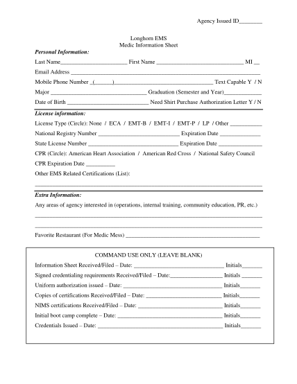 455147638-agency-issued-id-longhorn-ems-medic-information-sheet