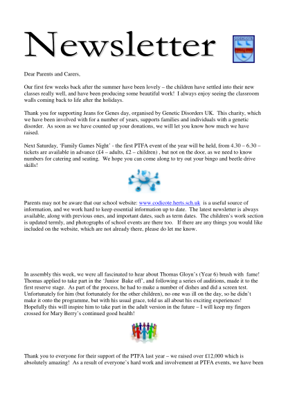 455424811-newsletter-2-18th-september-2015-dear-parents-and-carers-our-first-few-weeks-back-after-the-summer-have-been-lovely-the-children-have-settled-into-their-new-classes-really-well-and-have-been-producing-some-beautiful-work-codicote-hert