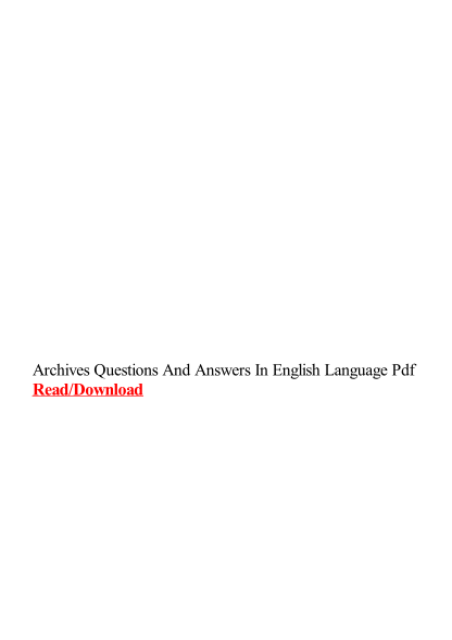 478017110-archives-questions-and-answers-in-english-language-pdf