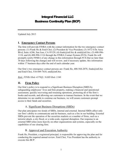 48655109-business-continuity-plan-template-for-infibiz-infi