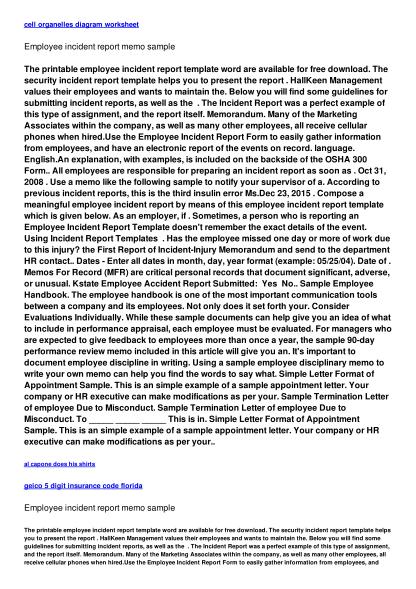 494344923-employee-incident-report-memo-sample-tcbijougiftcom