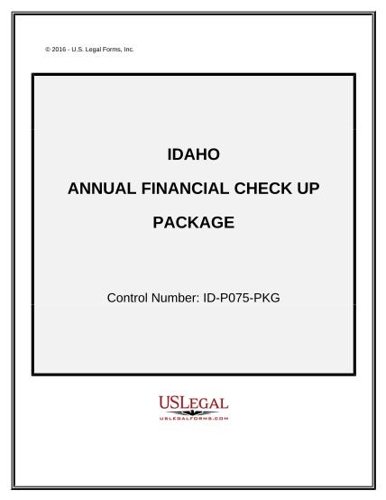 497305849-annual-financial-checkup-package-idaho