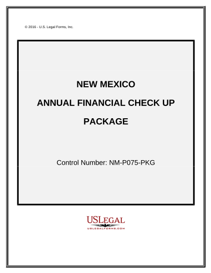 497320338-annual-financial-checkup-package-new-mexico