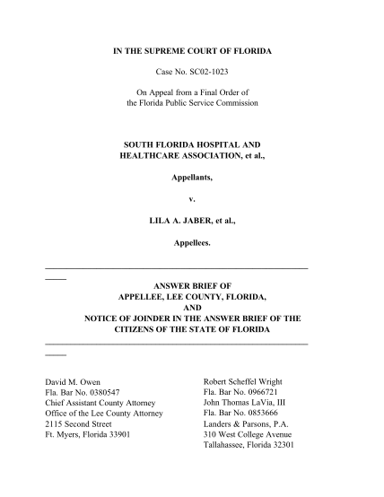 50195420-sc021023-on-appeal-from-a-final-order-of-the-florida-public-service-commission-south-florida-hospital-and-healthcare-association-et-al-floridasupremecourt