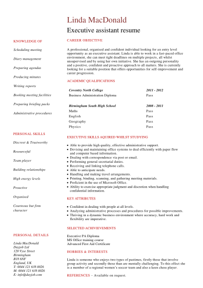 516572372-student-executive-assistant-resume-cv-template-a-executive-assistant-resume-sample-written-from-the-view-of-a-applicant-who-has-no-work-experience-but-a-lot-of-potential