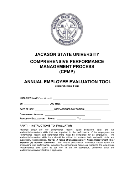 51859044-annual-employee-evaluation-form-jackson-state-university-jsums