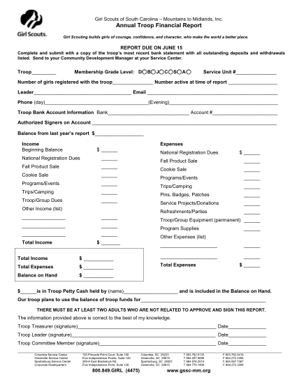 53557625-annual-troop-financial-report-girl-scouts-of-south-carolina-bb