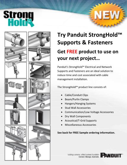 53983868-stronghold-sample-flyer-panduit