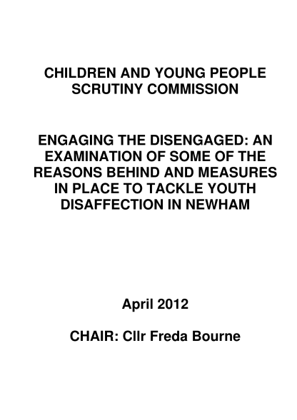 56133643-engaging-the-disengaged-scrutiny-review-newham-council-newham-gov