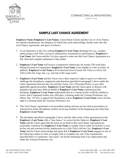 5619-fillable-last-chance-agreement-template-form