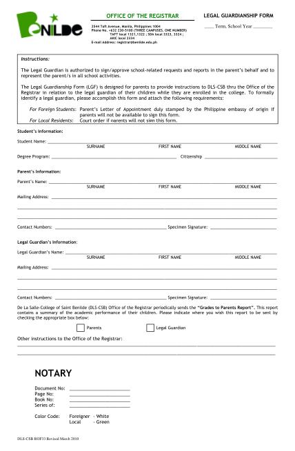 58390407-fillable-csb-legal-guardianship-form