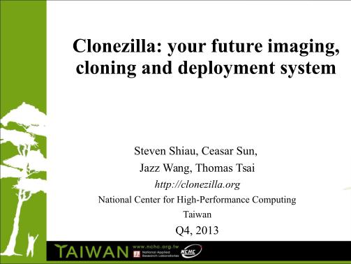 58475031-clonezilla-your-future-imaging-cloning-and-deployment-system-clonezilla