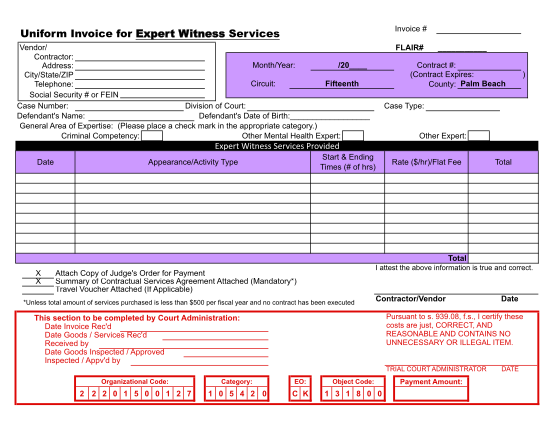 60745721-expert-witness-invoice-template