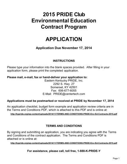 66811622-2015-pride-club-environmental-education-contract-program-application-application-due-november-17-2014-instructions-please-type-your-information-into-the-blank-spaces-provided-kypride