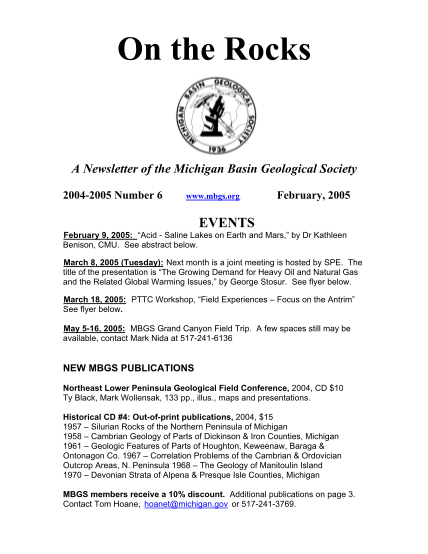67126927-on-the-rocks-a-newsletter-of-the-michigan-basin-geological-society-20042005-number-6-htu-www-mbgs