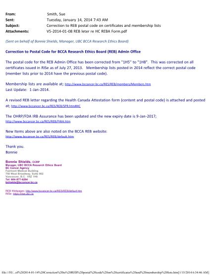 67333297-2014-jan-14-notice-reb-postal-code-correctionpdf-bc-cancer-bccancer-bc