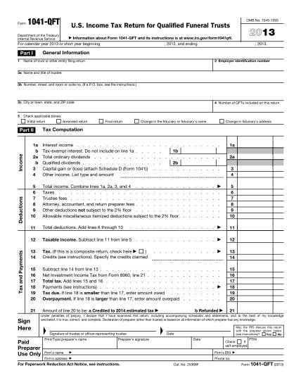 6961567-f1041qftpdf-2017-form-1041-qft-us-income-tax-return-for-qualified-funeral-trusts