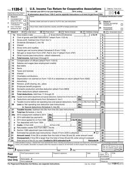 6962270-fillable-2014-2014-form-1120-c-irs