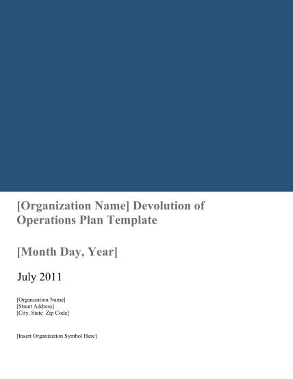 7029777-fillable-devolution-plan-template-form-fema
