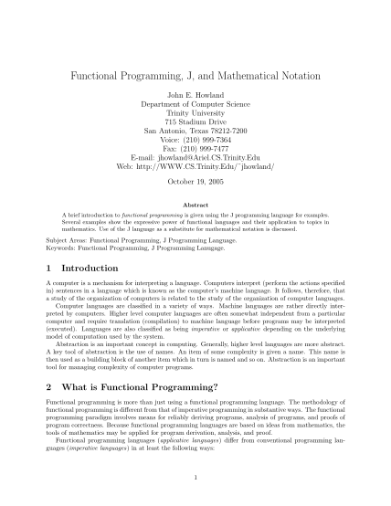 7113247-functional-functional-programming-j-and-mathematical-notation-other-forms-cs-trinity