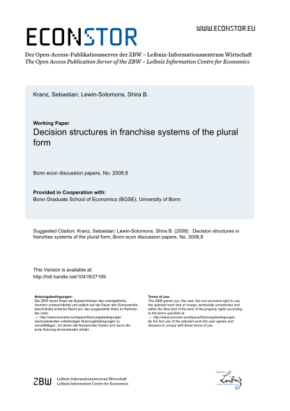72452147-decision-structures-in-franchise-systems-of-the-plural-form-econstor-econstor