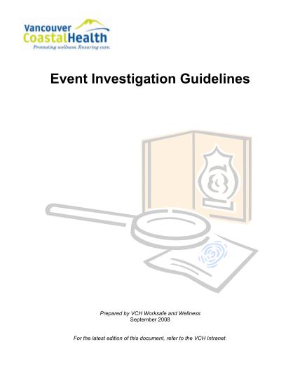 78281019-event-investigation-guidelines-investigations