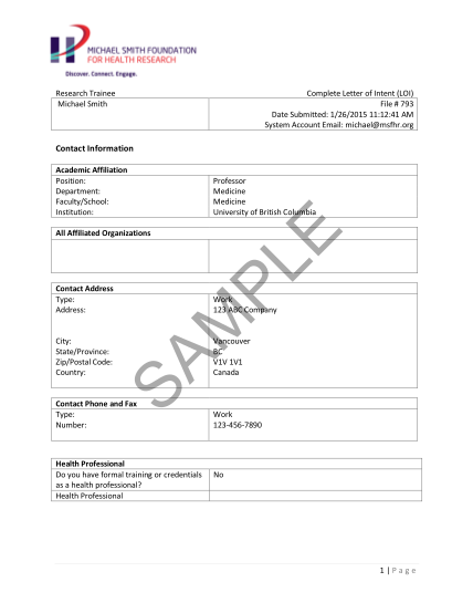 81828167-letter-of-intent-sample-form-michael-smith-foundation-for-health-msfhr