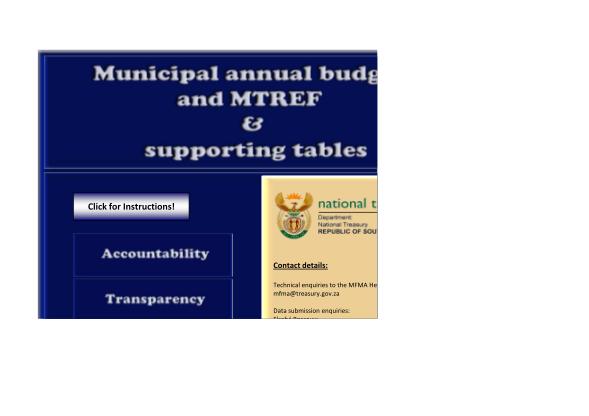 83925587-budget-format-template-chris-hani-district-municipality