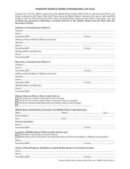 84999777-form-vermont-mobile-home-uniform-bill-of-sale-accd-vermont