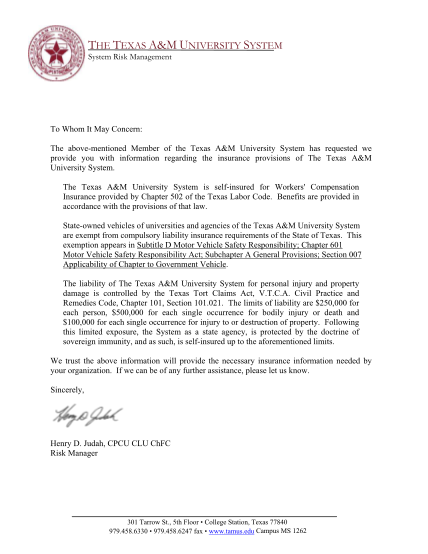 86113799-insurance-provision-letter-the-texas-aampm-university-system