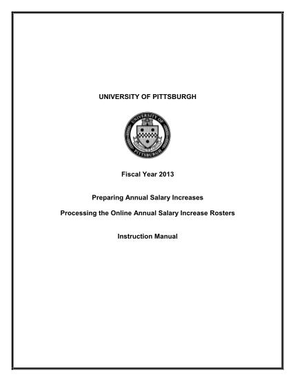 8941968-preparing-fiscal-year-2004-salary-increases-hrpittedu-university-hr-pitt