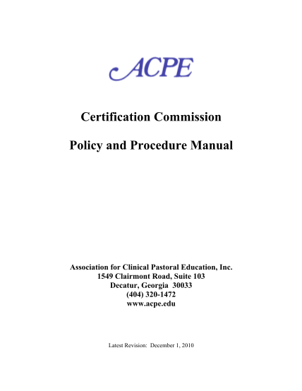 8952781-acpe-policy-and-procedures-manual-accreditation-council-for-acpe